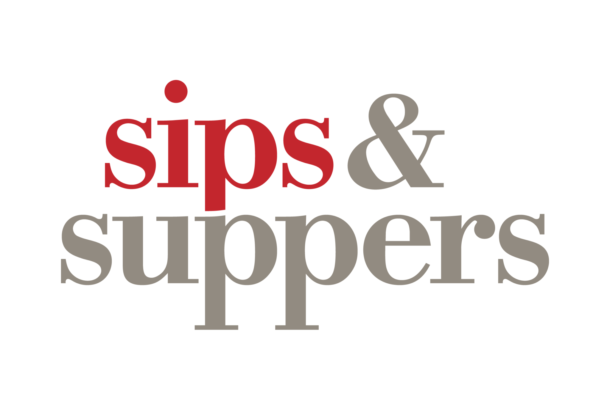 Sips & Suppers Logo